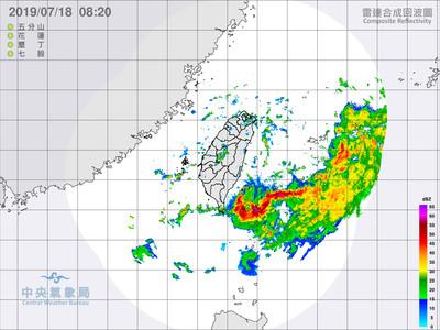快訊/丹娜絲增強!準熱帶低壓今晚起影響台灣