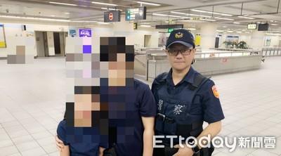 9歲韓女童捷運站啜泣 警員透過廣播找翻譯