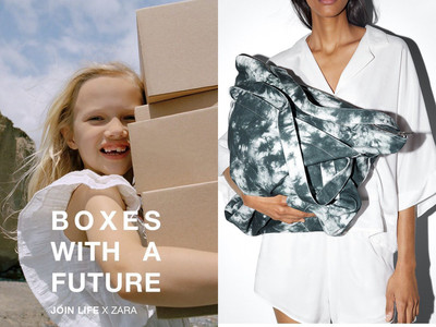 ZARA全面使用「永續材料」製衣
