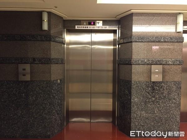 ▲電梯。(圖/記者陳家祥攝)