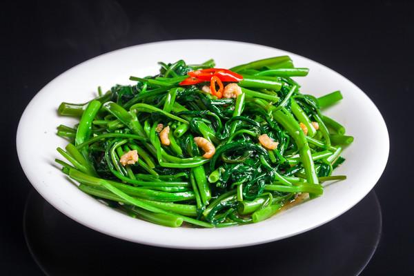 ▲▼ 空心菜,蔬菜,炒菜,美食,食物,餐點。(圖/視覺中國)