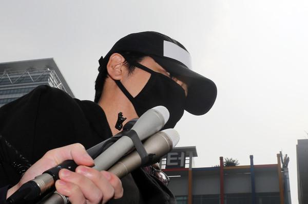 ▲姜至奐18日被移送檢方。(圖/視覺中國CFP)