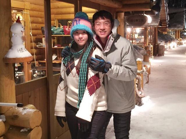 ▲▼薇閣高中謝佳璇(左)及父親謝震武(右)。(圖/薇閣高中提供)