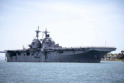 川普:美艦擊落一架伊朗無人機