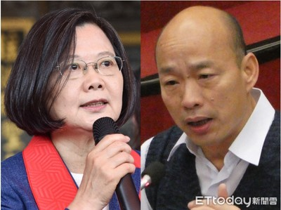 蔡總統民調走高的手法 韓國瑜學得來嗎?