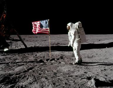 美插旗月球50年 回顧登月艇降落瞬間