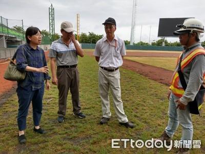 亞太國際棒球訓練中心發現秋行軍蟲