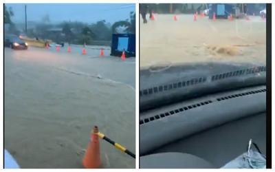 韓粉直播畫面都黃流:是積水不是淹水