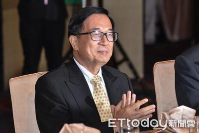 陳水扁出席黨慶「不同台小英」 僅逛攤位不上台、敘舊老友