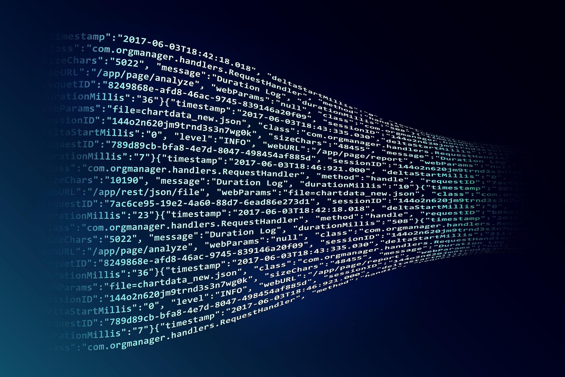 ▲大數據,網路,程式碼 。(圖/取自免費圖庫Pixabay)