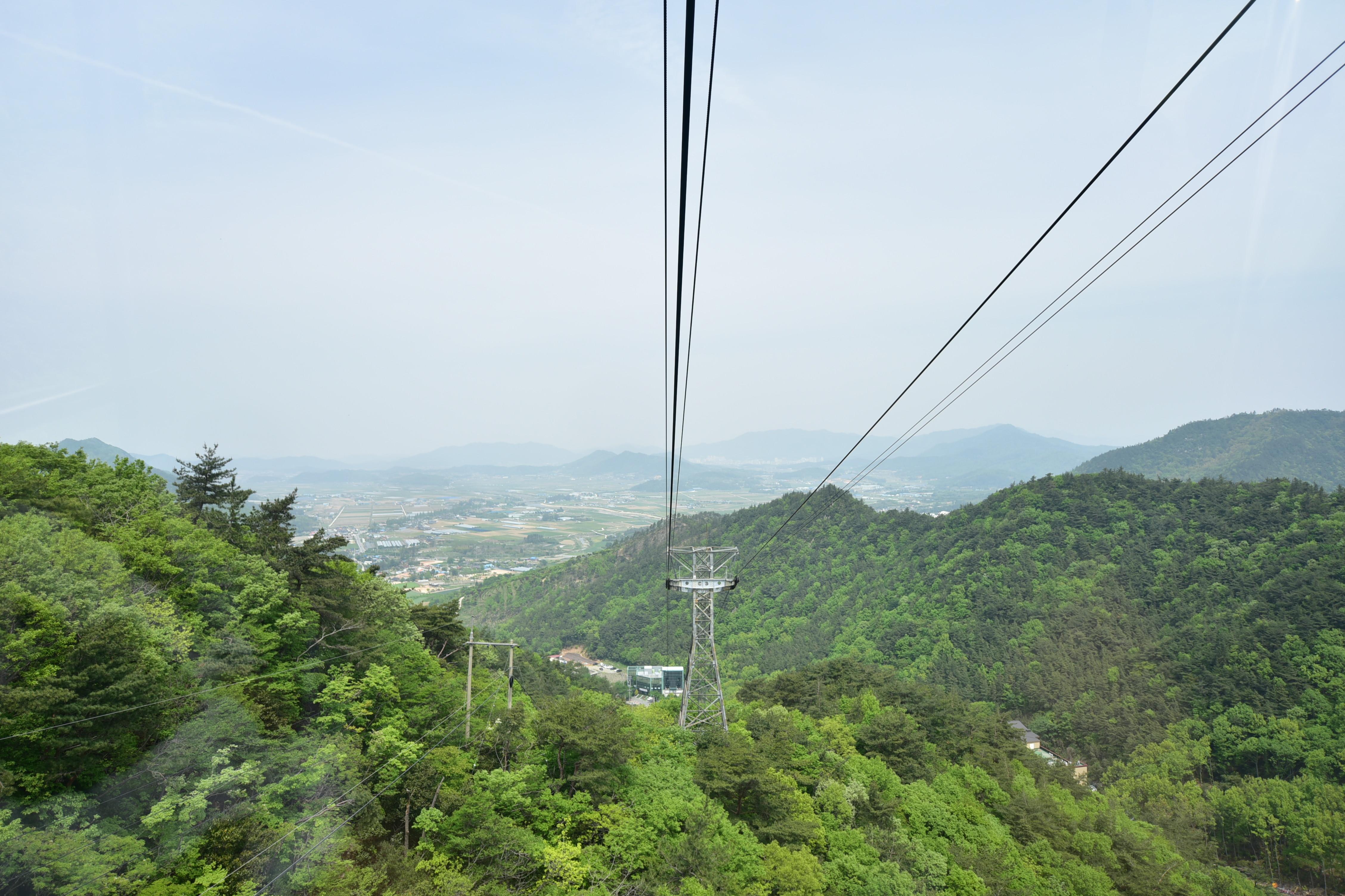 ▲▼光州無等山纜車(圖/翻攝自Naver Blog)