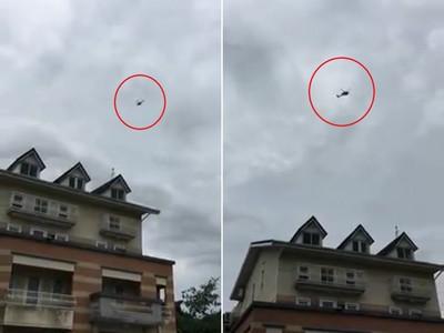 直升機盤旋李佳芬農舍2分鐘