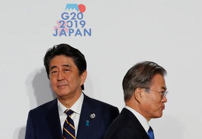 日媒:安倍料24日與南韓總理會談