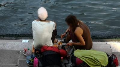 遊客在威尼斯名橋泡咖啡被罰3萬元