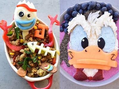 超逼真「迪士尼」人物料理