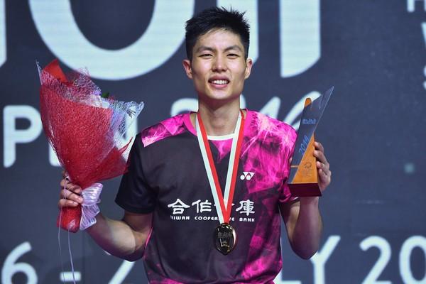 印尼公開賽/周天成奪冠成台灣男單第一人:太驚訝了感謝球迷