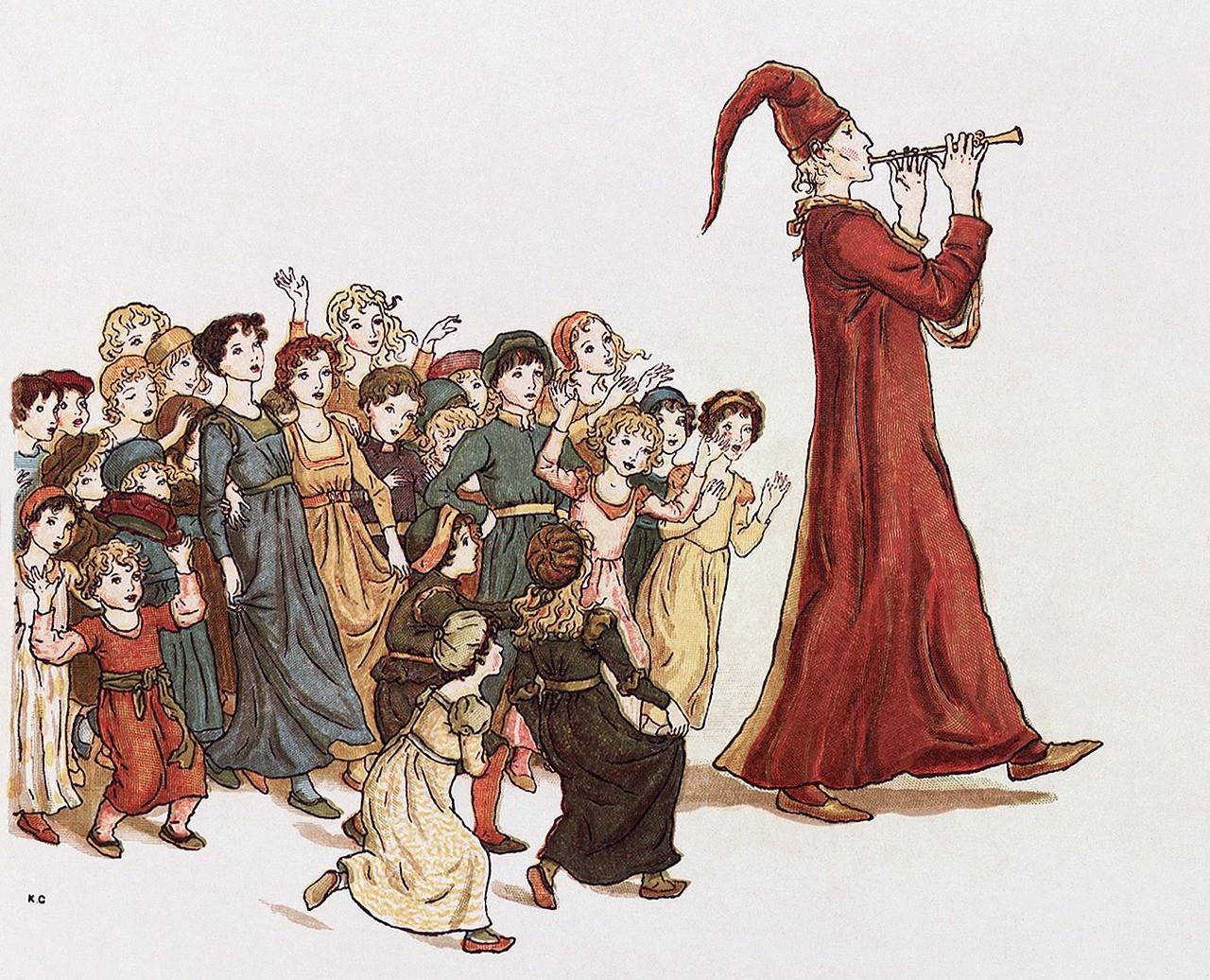 ▲哈梅爾的吹笛人/花衣魔笛手。(圖/取自免費圖庫Pixabay)