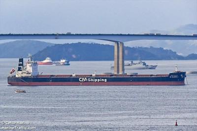 南韓籍貨輪航經新加坡海域遭襲
