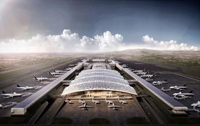 桃機三航廈取消波浪屋頂 外觀像Costco