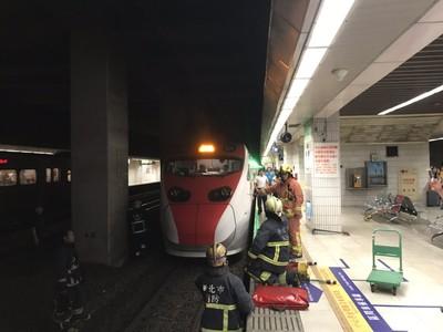 女台鐵板橋站跳軌亡 月台上留下字條