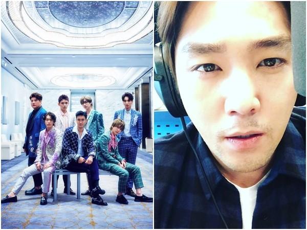 ▲Super Junior前成員強仁在退團後首度發聲,正能量文字讓粉絲放心不少。(圖/翻攝自Facebook、Instagram/슈퍼주니어(Super Junior)、kanginnim)