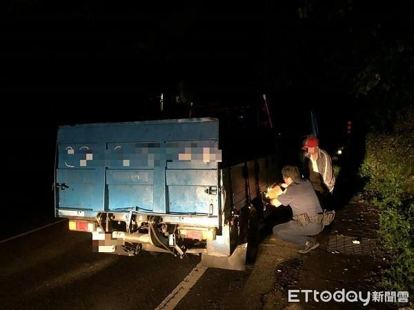 貨車開到沒油「刁」在桃園山區 暖警提油送電解困