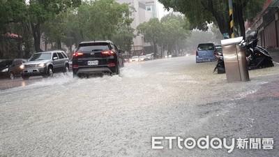 雨轟大安 北市積淹水路段一次看