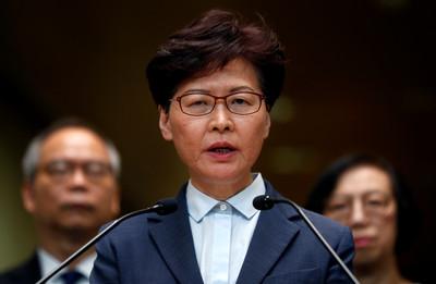 林鄭月娥:香港正處外憂內患
