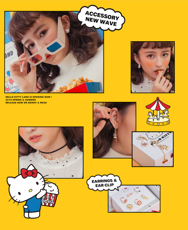 ▲BONNY&READXHello Kitty。(圖/BONNY&READ提供)
