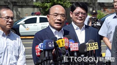 兩套標準?政院反擊韓國瑜:第一時間講藍綠的是韓市府