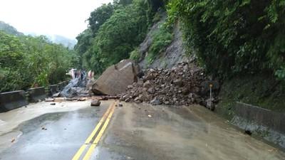 阿里山公路36.6公里土石坍方暫緩通行