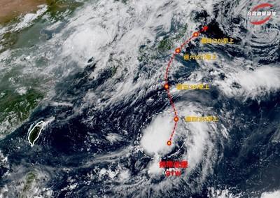 第6號颱風「百合」最快今生成!