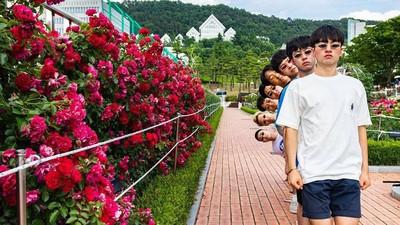 生猛團體照靠色彩和Pose! 8個韓國男生擺死人臉也帥到不行