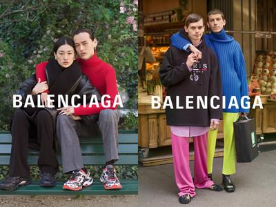 BALENCIAGA找素人拍浪漫閃照