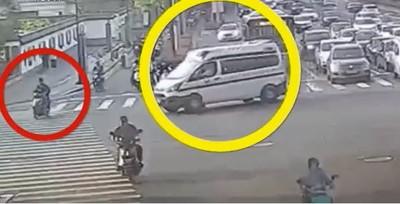 救護車闖紅燈撞死人 駕駛:應該判免責