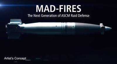 影/雷神公司發布新武器「MAD-FIRES」