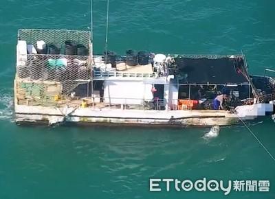 海巡無人機蒐證漁船違規函辦
