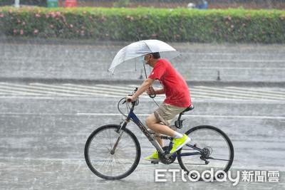 南高屏雨勢升級!15縣市防豪大雨