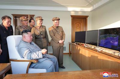 北韓試射飛彈 波頓:未違背承諾