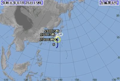 颱風百合襲本州 靜岡煙火會中止