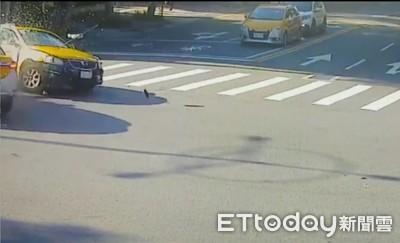 退休少將一家3人搭小黃 高速碰撞妻身亡