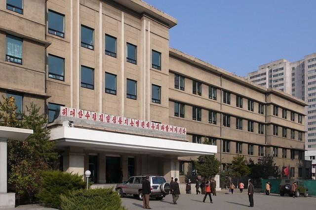 ▲▼平壤醫學大學醫院(圖/取自Flickr@Moravius)