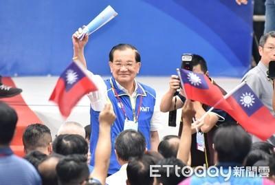 連戰點頭任韓國瑜全國後援總會長