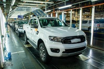 福特Ranger穩坐歐洲最熱賣皮卡車