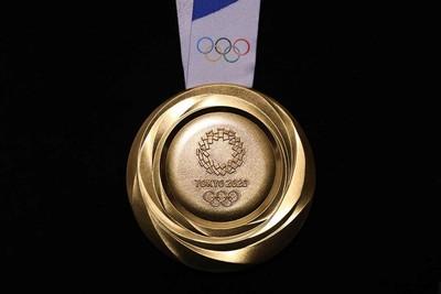 2020東京奧運金牌設計亮相