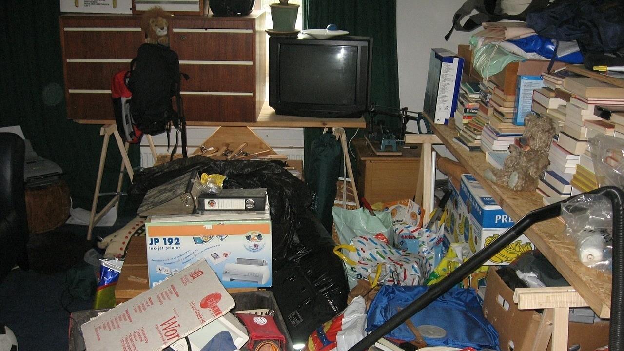 ▲髒亂,客廳,整理。(圖/取自免費圖庫Pixabay)