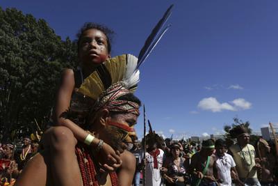 礦工入侵山區 殺死巴西原住民