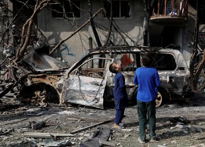 競選剛開跑 阿富汗爆炸20死50傷