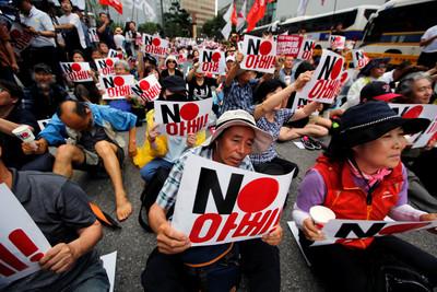 外媒:日本擬對韓擴大制裁 出口限制項目或增至1千項!