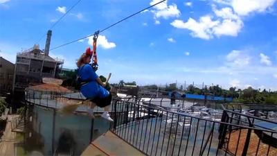 十鼓20米高全新設施飛天宅急便